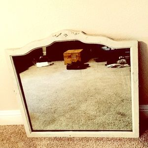 Authentic Antique Wall Mirror
